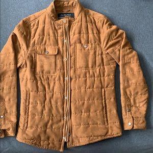 Brown thermal jacket